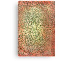 roses pattern Canvas Print