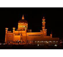 Sultan Omar Ali Saifuddin Mosque, Brunei 1 Photographic Print