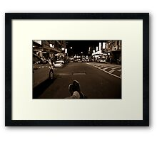 Penang Nightviews Framed Print