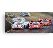 Ferrari vs Porsche 1970 Watkins Glen 6 Hours Canvas Print