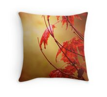 Glowing Fire Throw Pillow