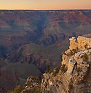 Dusk at the Grand Canyon by Zane Paxton
