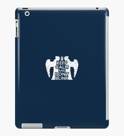 Doctor Who - Keep Calm and Don't Blink iPad Case/Skin