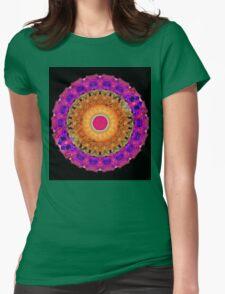 Positive Energy - Kaleidoscope Mandala By Sharon Cummings Womens Fitted T-Shirt