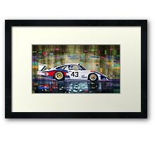 Porsche 935 Coupe Moby Dick Framed Print