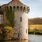 Scotney Castle Kent UK: Turret Detail by DonDavisUK