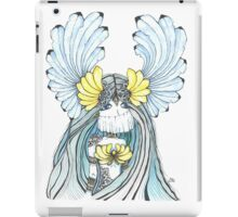Watercolor and ink Greek Goddess iPad Case/Skin