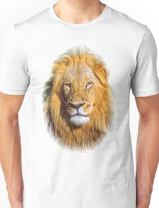 Portrait young lion Unisex T-Shirt