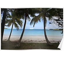 Pacific Dawn , Isle of Pines, New Caledonia Poster