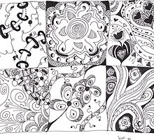 Zentangle Sampler 1 by Hope Wilbanks