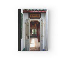 Through the Temple Doors - Hoi An, Vietnam. Hardcover Journal