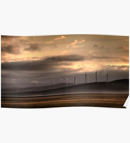 Lake George Wind farm. Poster