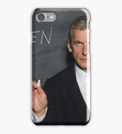 Doctor Who - Listen iPhone Case/Skin