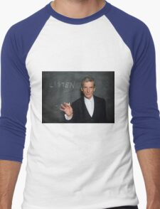 Doctor Who - Listen Men's Baseball ¾ T-Shirt