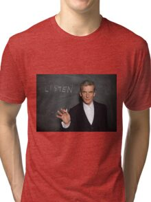 Doctor Who - Listen Tri-blend T-Shirt