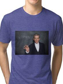 Doctor Who - Listen Tri-blend T-Shirt