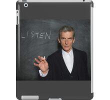 Doctor Who - Listen iPad Case/Skin