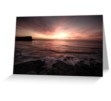 First Light - Avalon ,Sydney - The HDR Experience Greeting Card