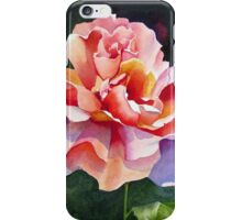 """Just Joey"" Rose Watercolor iPhone Case/Skin"
