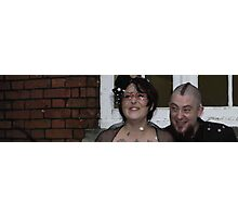 Bride and Groom pt 3 Photographic Print