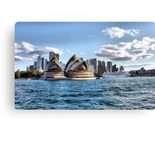 Sydney Harbour Cruise Canvas Print