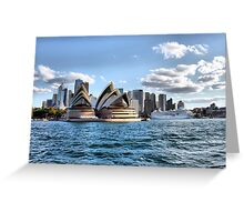 Sydney Harbour Cruise Greeting Card