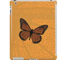 Doodled Monarch iPad Case/Skin