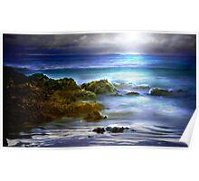 Tasmanian Beach...NW coast.. Poster