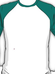 White Ink Rain Cat T-shirt T-Shirt