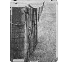 Western Plains fence line iPad Case/Skin