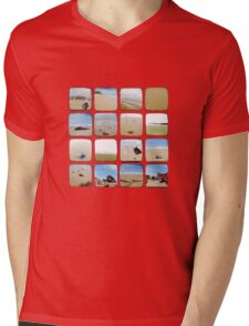 Beach Collective - TTV Mens V-Neck T-Shirt