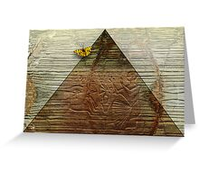 Egyptian Myth Greeting Card