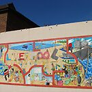 Liverpool street mural by Tony  Glover