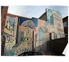 Liverpool wall mural Poster