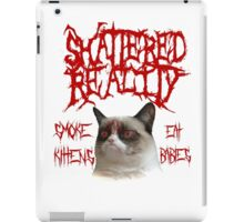 Shattered Reality Cat iPad Case/Skin