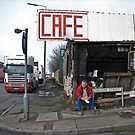 Cafe nelson street by Tony  Glover