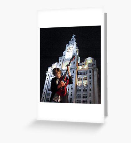 Iconic Rock Greeting Card