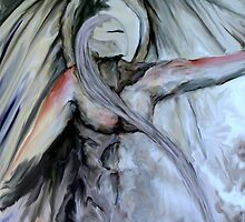 """Pointing angel in oils """"finding direction"""" by JP100"""