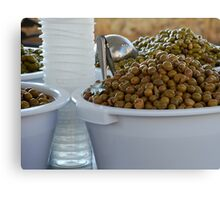 Olives. Canvas Print