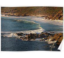 Rugged Coastline of Dunsborough Poster