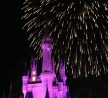 Cinderella Castle Sticker