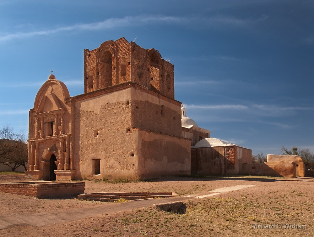 Tumacacori Mission by Richard G Witham