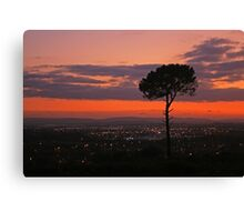 Poole & Purbeck Sunset Canvas Print