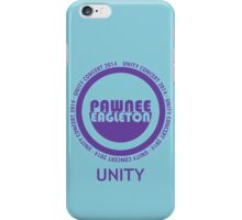 Pawnee-Eagleton unity concert 2014 iPhone Case/Skin