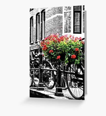 Amsterdam:  Greeting Card