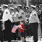 Boy with flag by Bigart32