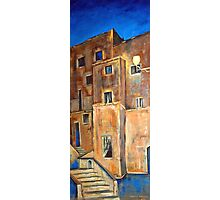 Back alley by night Photographic Print