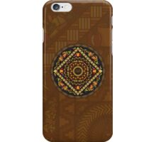 Thanksgiving Icons Mandala iPhone Case/Skin