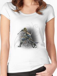 Final Fantasy Dissidia - Zidane Women's Fitted Scoop T-Shirt