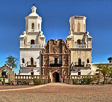 San Xavier del Bac by Linda Gregory